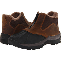 Propet Blizzard Ankle Zip (Dark Brown) Footwear