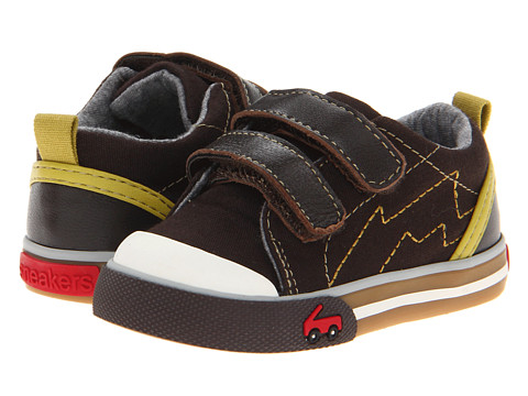 See Kai Run Kids - Calder (Infant/Toddler) (Brown) Boy's Shoes