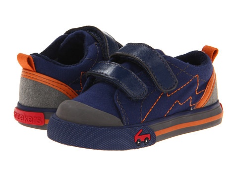 See Kai Run Kids - Calder (Infant/Toddler) (Navy) Boy's Shoes