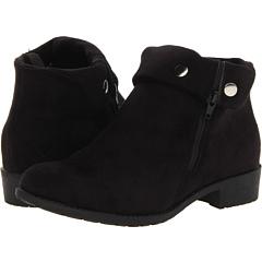 Propet Sidney (Black Velour) Footwear