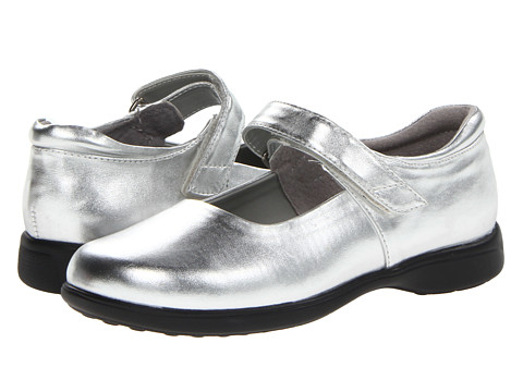 Jumping Jacks Kids - Abby (Toddler/Little Kid/Big Kid) (Shiny Silver) Girls Shoes