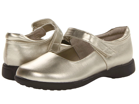 Jumping Jacks Kids - Abby (Toddler/Little Kid/Big Kid) (Soft Gold Metallic) Girls Shoes