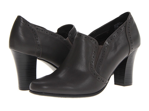 Rialto - Nora (Dark Grey) Women's Slip on Shoes