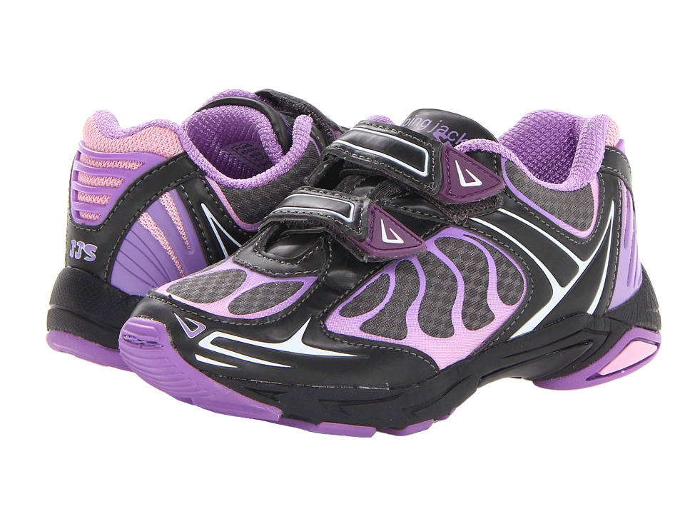 Jumping Jacks Kids - Flame (Toddler/Little Kid) (Lilac/Pink/Black) Girls Shoes