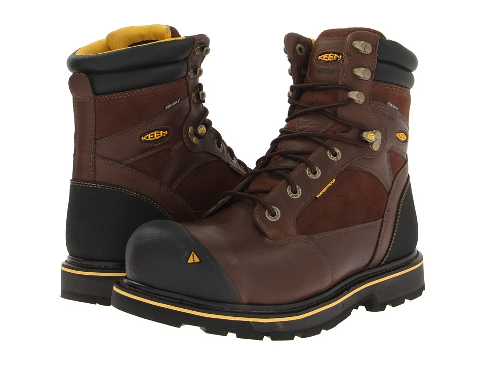 Keen Utility - Sheridan Insulated Comp Toe (Cascade Brown) Men's Work Lace-up Boots
