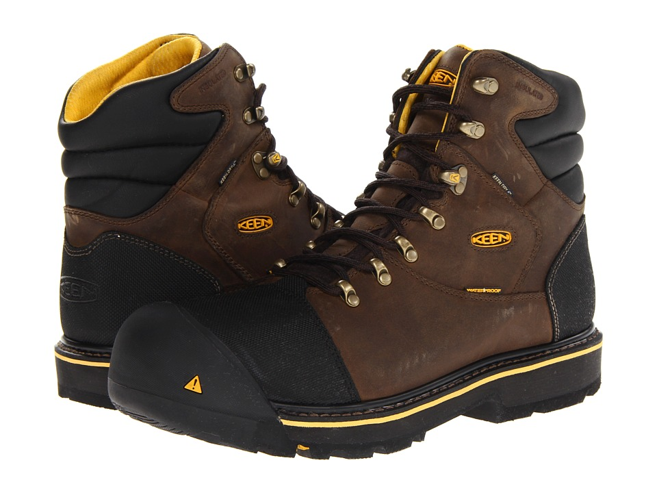 Keen Utility - Milwaukee WP Insulated Steel Toe (Black Olive) Men's Work Lace-up Boots
