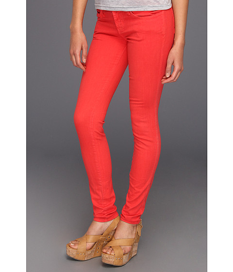 JHaus Rebecca Colored Skinny (Husker Red) Women's Jeans