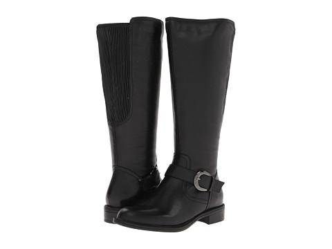 David Tate - Branson - Wide Shaft (Black) Women's Boots