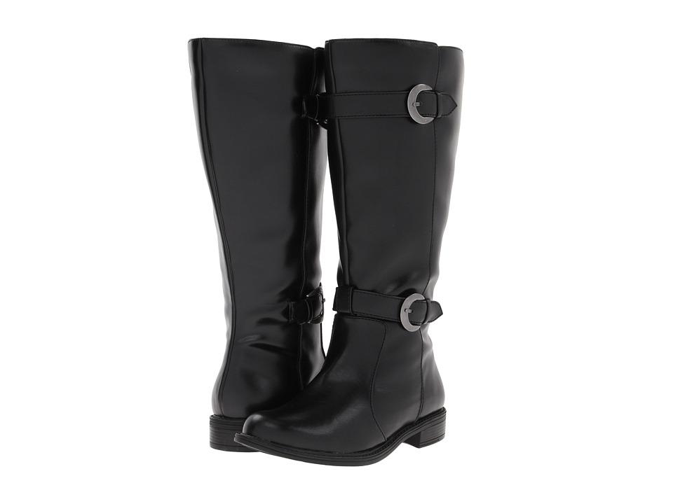 David Tate - Mustang Extra Wide Shaft (Black) Women's Shoes