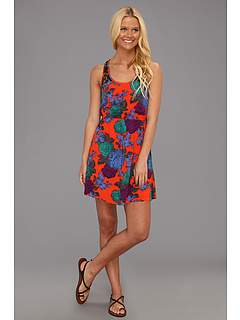SALE! $26.99 - Save $23 on Volcom Take Me Home Tank Dress (Electric Orange) Apparel - 45.47% OFF $49.50