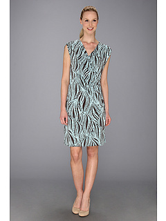 SALE! $61.99 - Save $76 on Tommy Bahama Sands Aswirl Side Wrap Dress (Brazil Nut) Apparel - 55.08% OFF $138.00