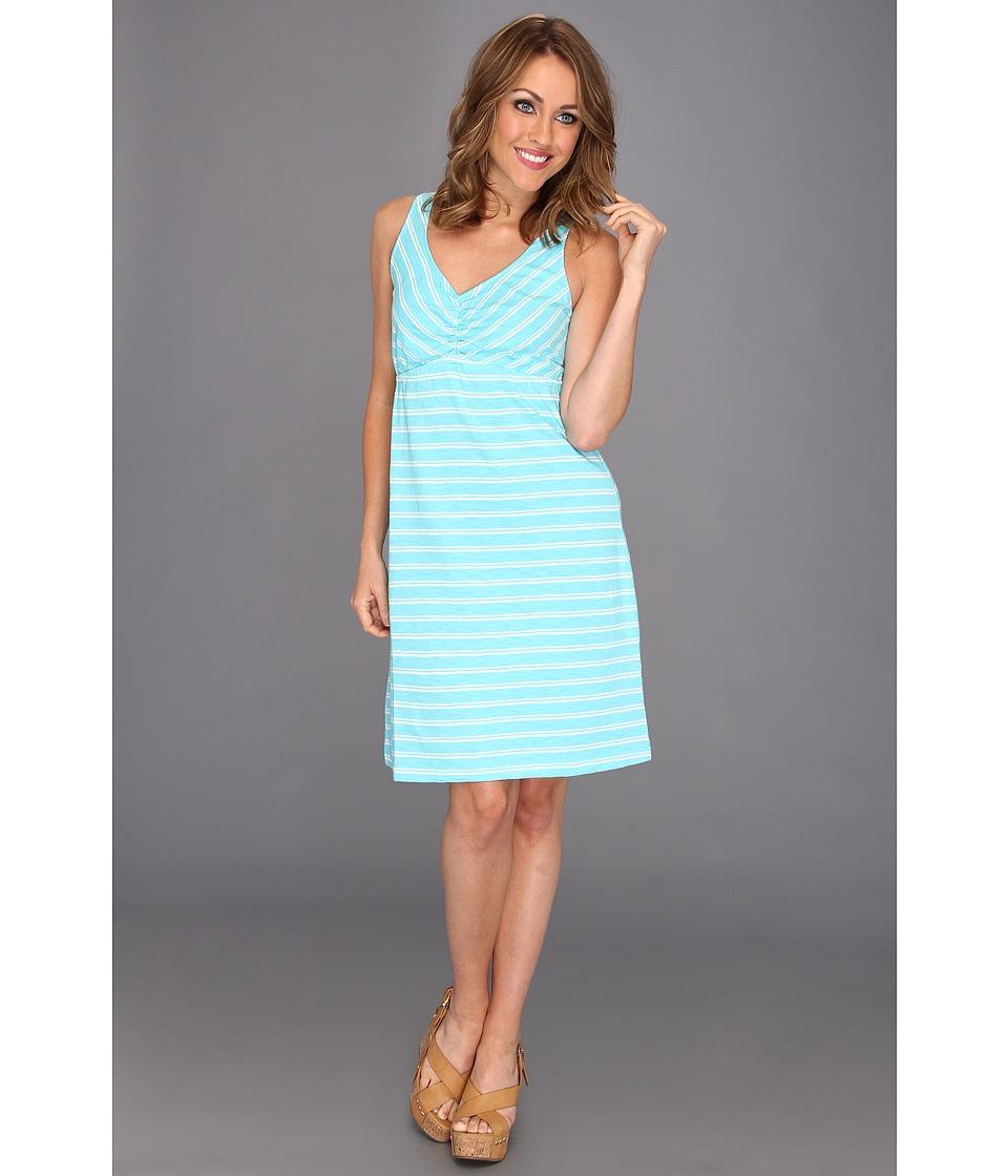 Tommy Bahama Breton Stripe Tank Dress Womens Dress (Blue)