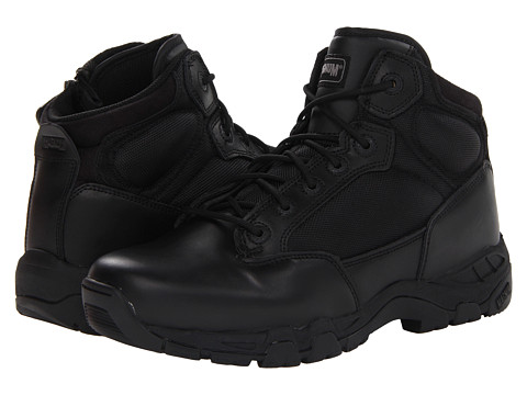 Magnum - Viper Pro 5.0 Side Zip (Black) Men's Work Boots