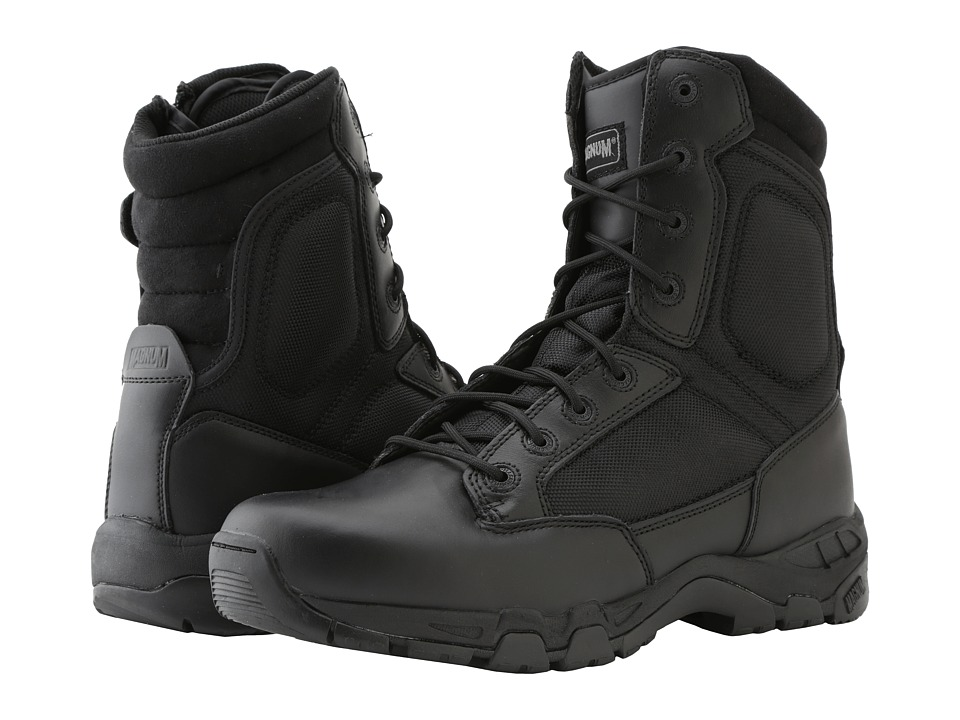 Magnum - Viper Pro 8.0 Side Zip (Black) Men's Work Boots