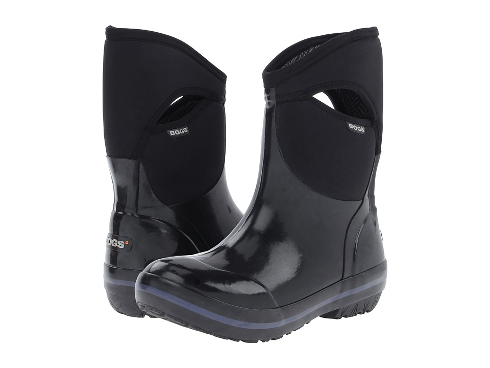 Bogs - Plimsoll Mid (Black) Women's Waterproof Boots