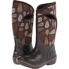 Bogs Fern Tall (Chocolate Multi) Footwear