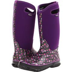 Bogs Sweet Pea (Plum Multi) Footwear