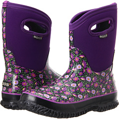 Bogs Sweet Pea Mid (Plum Multi) Footwear