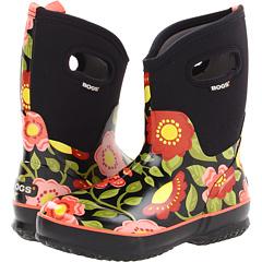 Bogs Secret Garden Mid (Black Multi) Footwear