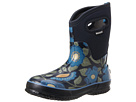 Bogs - Secret Garden Mid (Navy)