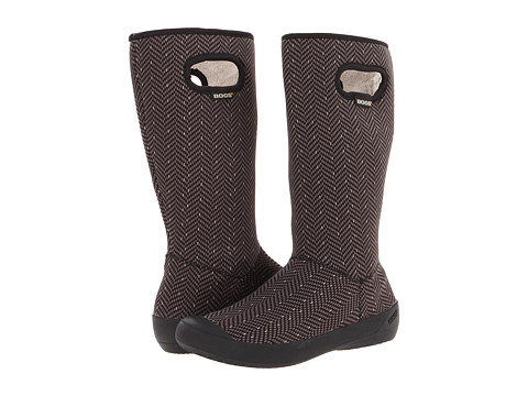 Bogs - Summit (Black Herringbone) Women's Waterproof Boots