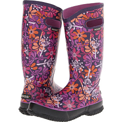 Bogs Make A Wish Rainboot (Plum Multi) Footwear