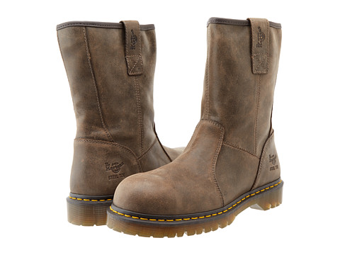 Dr. Martens Work - Denton ST Rigger Boot (Brown New Old Beanee) Men