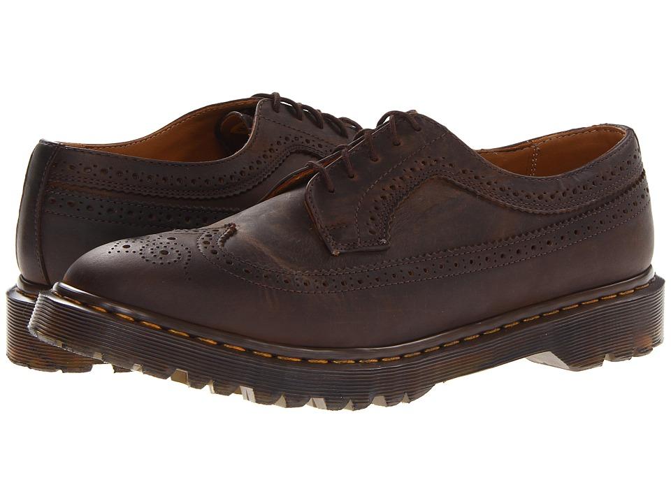 Dr. Martens - 3989 Brogue Shoe (Gaucho Crazy Horse) Men