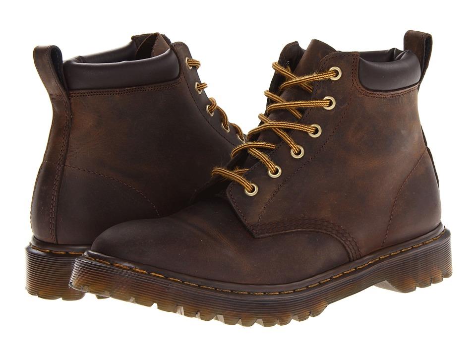 Dr. Martens - 939 6-Eye Padded Collar Boot (Gaucho Rugged Crazy Horse) Men