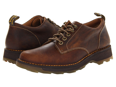 Dr. Martens - Lachlan 5-Tie Shoe (Tan Greenland) Men