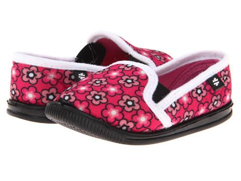 Foamtreads Kids - Helsinki (Toddler/Little Kid) (Pink/Floral) Girls Shoes