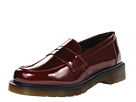 Dr. Martens - Abby Penny Loafer (Cherry Red Spectra Patent) - Footwear