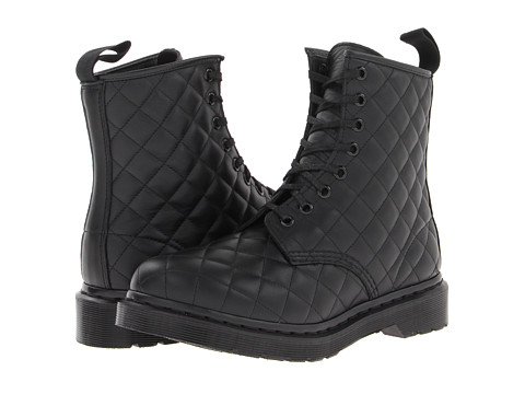 Dr. Martens - Coralie Quilted 8-Eye Boot (Black Danio) Women