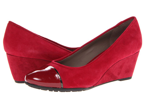 Geox Donna Venere 6 (Scarlet) Women's Wedge Shoes