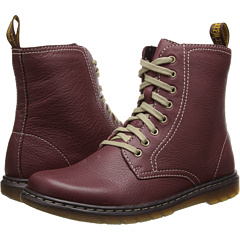 Dr. Martens Felice 8 Eye Boot (Cherry Red Broadway) Footwear