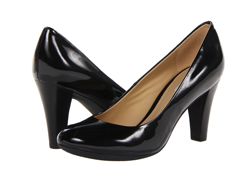 Geox - Donna Mariele High 7 (Black Patent) High Heels