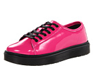 Dr. Martens - Spin Lace-To-Toe Shoe (Hot Pink Patent Lamper) - Footwear