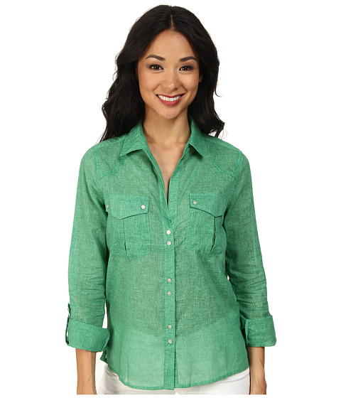 KUT from the Kloth - Maggie Top (Green) Women's Blouse