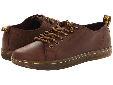 Dr. Martens - Samira 6-Tie Shoe (Dark Brown Wyoming) Women