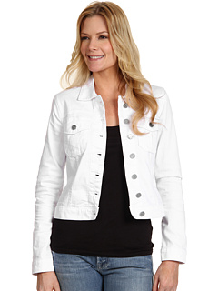 SALE! $46.99 - Save $32 on KUT from the Kloth Denim Jacket (White) Apparel - 40.52% OFF $79.00