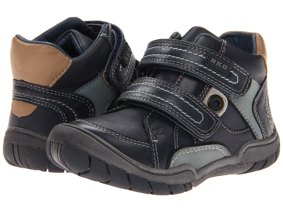 Beeko - Steven II (Toddler) (Navy) Boys Shoes