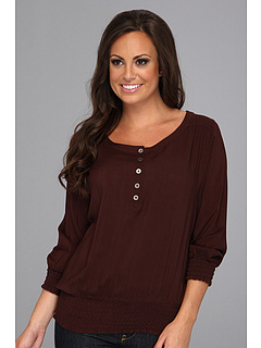 SALE! $16.99 - Save $30 on Ariat Bandera Top (Espresso) Apparel - 63.81% OFF $46.95