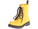 Dr. Martens - Drench 8-Eye Boot (Yellow Patent Vulcanised Rubber) - Footwear