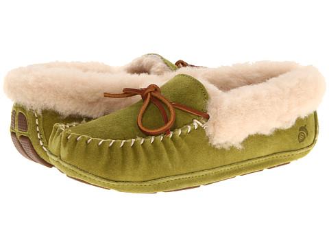 Acorn - Sheepskin Moxie Moc (Olive) Women