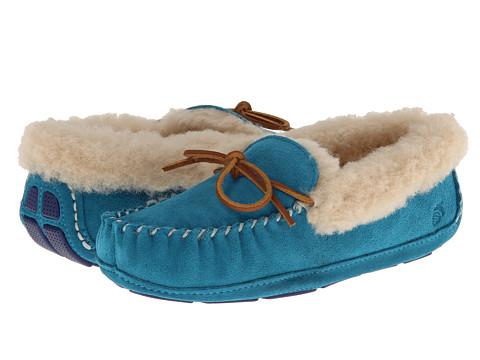 Acorn - Sheepskin Moxie Moc (Turquoise) Women