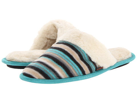 Acorn - Polar Scuff (Neutral Fun Stripe) Women