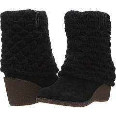 Dr. Scholl`s Catrina (Black Suede Leather) Footwear