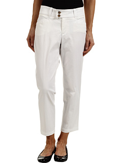 SALE! $14.99 - Save $35 on Dockers Petite Petite Metro Ankle Pant (Solid Paper White) Apparel - 70.02% OFF $50.00
