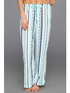 SALE! $21.99 - Save $22 on Karen Neuburger Nomad knCool Long Pajama Pant (Tribal Stripe Aqua) Apparel - 50.02% OFF $44.00