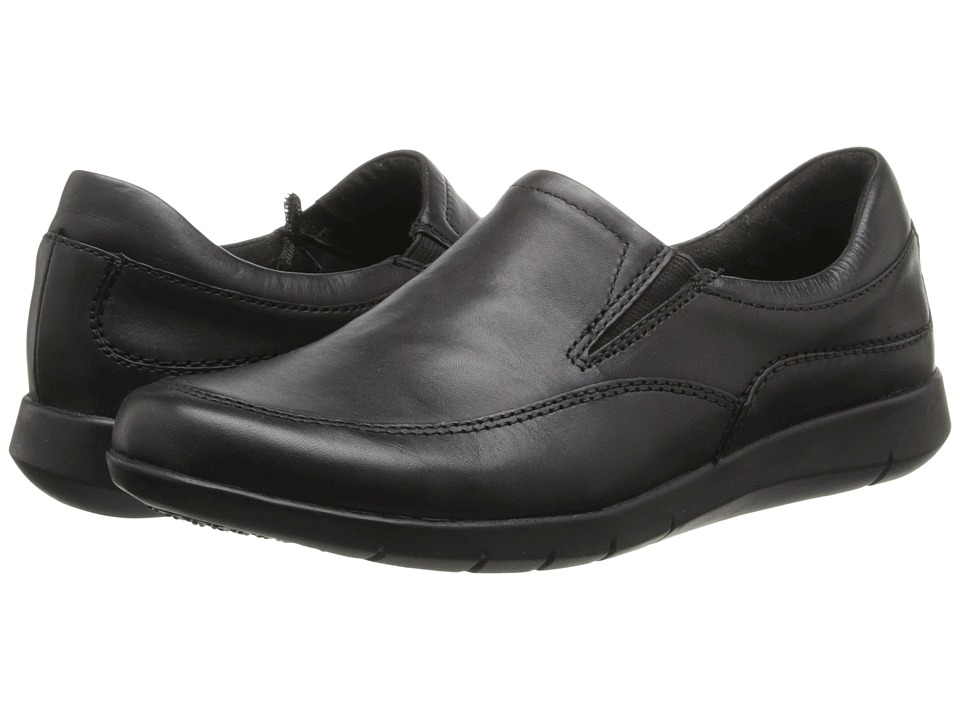 Dr. Scholl's - Missy (Black Action Leather) Women's Slip on Shoes
